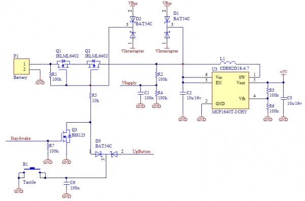Схема питания i3