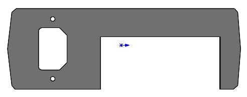 Задняя панель