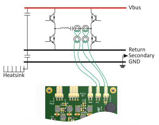 Подключение токовых трансформаторов