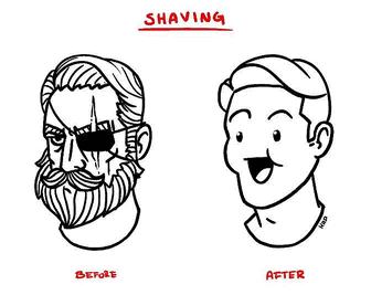 борода