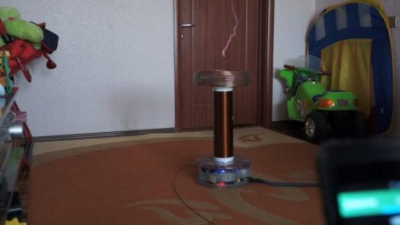 трансформатор симпл тесла от савола