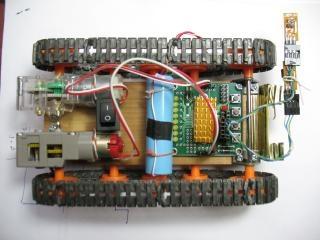 beam-robot на плате Марсоход